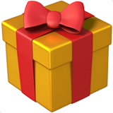 Wrapped Gift on Apple iOS 11.1