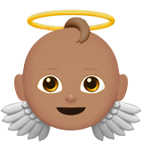 Baby Angel: Medium Skin Tone on Apple iOS 11.2