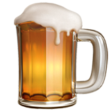Beer Mug on Apple iOS 11.2
