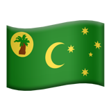 Flag: Cocos (Keeling) Islands on Apple iOS 11.2