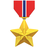 Military Medal on Apple iOS 11.2