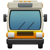 Oncoming Bus on Apple iOS 11.2