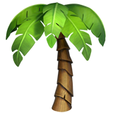 Palm Tree on Apple iOS 11.2