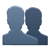 Busts in Silhouette on Apple iOS 5.1