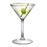 Cocktail Glass on Apple iOS 5.1