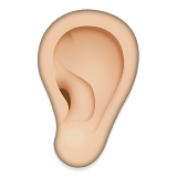Ear on Apple iOS 5.1