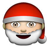 Santa Claus on Apple iOS 5.1