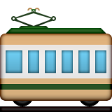 Railway Car on Apple iOS 5.1