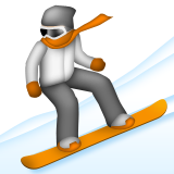 Snowboarder on Apple iOS 5.1