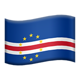 Flag: Cape Verde on Apple iOS 11.3