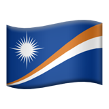 Flag: Marshall Islands on Apple iOS 11.3