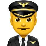 Man Pilot on Apple iOS 11.3
