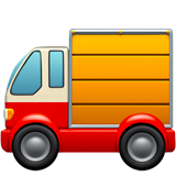 Delivery Truck on Apple iOS 12.1