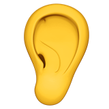 Ear on Apple iOS 12.1