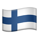 Flag: Finland on Apple iOS 12.1