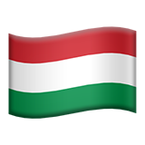 Flag: Hungary on Apple iOS 12.1