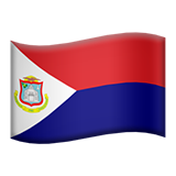 Flag: Sint Maarten on Apple iOS 12.1