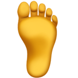 Foot on Apple iOS 12.1