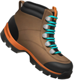 Hiking Boot on Apple iOS 12.1