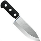 Kitchen Knife on Apple iOS 12.1