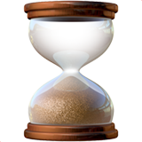 Hourglass Done on Apple iOS 12.1