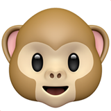 Monkey Face on Apple iOS 12.1