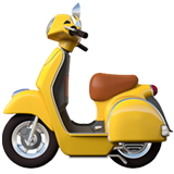 Motor Scooter on Apple iOS 12.1