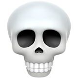 Skull on Apple iOS 12.1