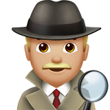 Detective: Medium-Light Skin Tone on Apple iOS 12.1