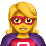 Superhero on Apple iOS 12.1