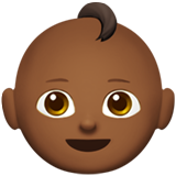 Baby: Medium-Dark Skin Tone on Apple iOS 12.2