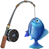 Fishing Pole on Apple iOS 12.2