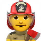 Man Firefighter on Apple iOS 12.2