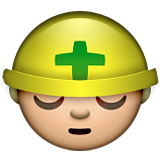 Construction Worker on Apple iOS 6.0
