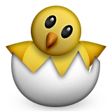 Hatching Chick on Apple iOS 6.0