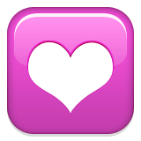 Heart Decoration on Apple iOS 6.0