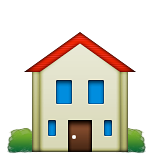 🏠 House Emoji on Apple iOS 6.0