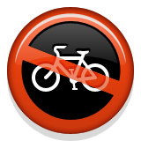 No Bicycles on Apple iOS 6.0