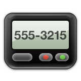 Pager on Apple iOS 6.0
