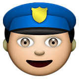 Police Officer on Apple iOS 6.0