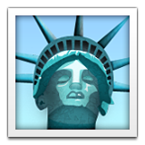 Statue of Liberty on Apple iOS 6.0