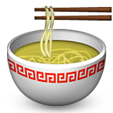 Steaming Bowl on Apple iOS 6.0