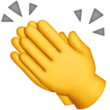 Clapping Hands on Apple iOS 13.1