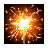 Sparkler on Apple iOS 13.1
