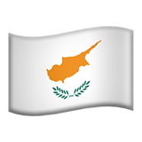 Flag: Cyprus on Apple iOS 13.1