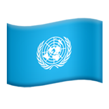 Flag: United Nations on Apple iOS 13.1