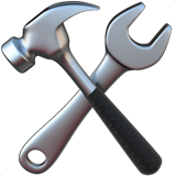 Hammer and Wrench on Apple iOS 13.1