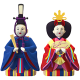 Japanese Dolls on Apple iOS 13.1