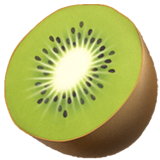 Kiwi Fruit on Apple iOS 13.1