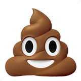 Pile of Poo on Apple iOS 13.1